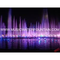Programm Controlled Floating Pond Fountain Hundred Meter Mountain Shape  In The Lake Manufactures