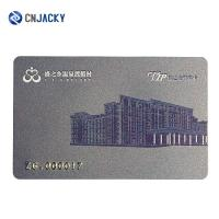 Contactless RFID Smart Card With T5577 / TK4100 Chip , PVC Hotel VIP Card Manufactures