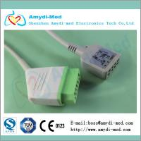 Nihon kohden ECG trunk Cable,Nihon Kohden JC-906P ecg monitor cable, IEC Manufactures