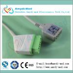 Nihon kohden ECG trunk Cable,Nihon Kohden JC-906P ecg monitor cable, IEC Manufactures