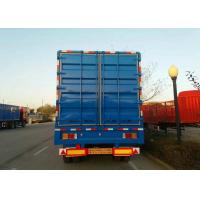 SINO HOWO Hydraulic Dump Trailer , 3 Axle Semi Trailer For Transport Goods Manufactures
