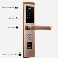 China Home Automation Door Lock C-level 360*78mm keyless entry door lock on sale