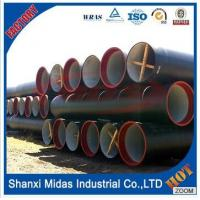 China ISO2531 K9 Cement Lined Cast Ductile Iron Pipe for drinkable water on sale