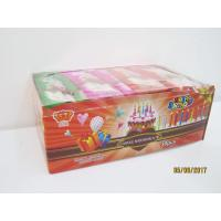 Happy Birthday Candle Marshmallow Candy / 11g /4 Pcs In One Bag Twist Cotton Candy Manufactures