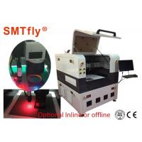 Auto 355nm UV Laser Cutting Machine , PCB Depaneling Equipment White Color Manufactures