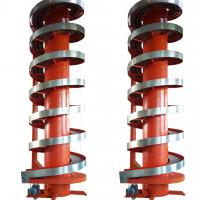 screw lifting powered roller spiral conveyor with stainless steel Manufactures