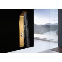 Rainfall Top Sprayer Shower Head Panel , Stainless Steel Shower Panel ROVATE Manufactures