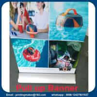 Outdoor Aluminum Alloy Roll Up Banner Stand Manufactures
