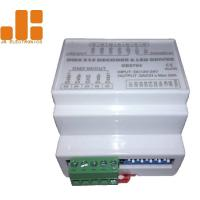 China DIN Rail Version Max 5A*4CH DMX512 Decoder LED Dimmer Controller with ABS Material on sale