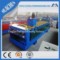 IBR and Corrugated Double Layer Roll Forming Machine For Steel Plate With CE Manufactures