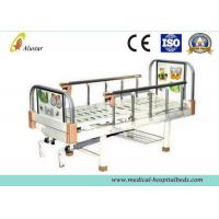 China Metal Punching Bed Surface Double Crank Children Hospital Baby Beds with 2 Functions (ALS-BB011) on sale