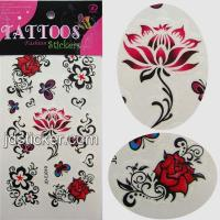 Waterproof Tattoo stickers,Temporary tattoo Stickers,Fashion Tattoo Stickers Manufactures