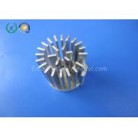 Quality Aluminum Alloy CNC Milling Parts Heatsink Parts For LED Lights As Drawing for sale