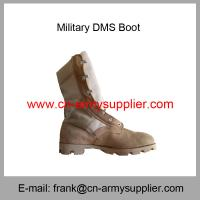 Wholesale Cheap China Army Full Grain Sude Waterproof Military Desert DMS Boot Manufactures