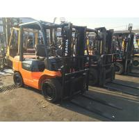 3 Ton Forklift For Sale , 7FD30 Toyota Used Forklift Hot Sale in Singapore Manufactures