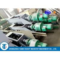 China Flexible Fertilizer Industry Auger Conveyor BV / ISO / SGS Approval Carbon Steel Made on sale