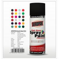 Aeropak  aerosol can 400ml 10oz spray paint with all colors acrylic Manufactures