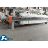 Textile Industry Chamber Filter Press For Wastewater Treatment heavy duty Manufactures