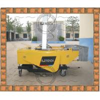 Quality Internal Wall Automatic Plastering Machine 2.25Kw 1350mm Width Render for sale