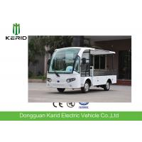Chinese 500kg Payload Cargo Box 2 Seater Electric Utility Vehicle With DC Motor Light Weight Manufactures
