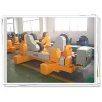 PU Wheel Self Aligned Weld Rotator With Motorized Bogie For Vessel Rotary Manufactures