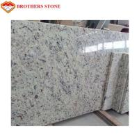 Luxury Kashmir White Granite Countertops Customized Size Corrosion Resistant Design Manufactures