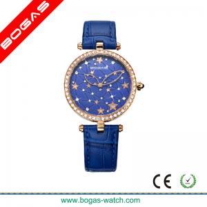 China Imitation Leather Band Quartz Analog Watch for Women on sale