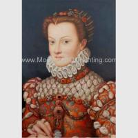 Royal Lady People Oil Painting Reproduction Noble Palace Oil Painting For Home Decor Manufactures