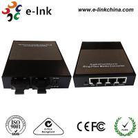 Single Mode Ring Type Fiber Ethernet Media Converter With SC Connector Black Box Manufactures