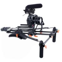 New PRO dslr rig kit with Motorized Follow Focus Shoulder Rig Support Pad Manufactures