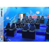 Ocean Park 30 Motion Chairs XD Theatre With Cinema System Entertainment Manufactures
