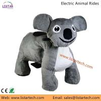 China Coin Operated Plush Walking Animal Rides from Guangzhou Factory, Stuffed Electric Rides on sale