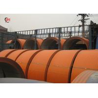 Safeguard Conveyor Belt Covers Material Feeding Conveyor Belt Hood Colorful Steel Manufactures
