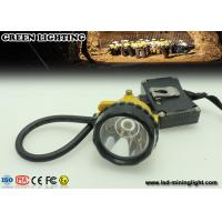 15000 Lux superbright cree Mining Cap Lights msha approved sos function reflective stripe Manufactures