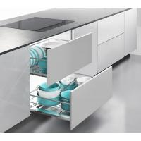 Moving Smoothly Kitchen Pull Out Basket Universal Open For Corner Cabinet Manufactures