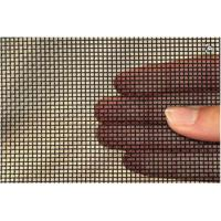 11mesh 0.8mm 316 Stainless Steel Mesh Screen , Metal Fly Screen Mesh 1.2m Max Width Manufactures