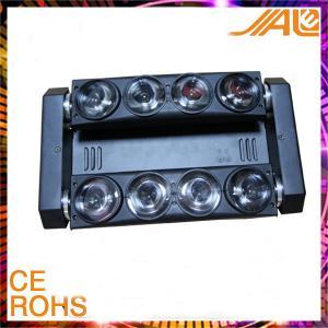 Quality 10 Watt 8 pcs Spider Moving Head Led Light / Moving Spider /  Beam Moving Head Light for sale