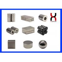 Quality Sintered Customized Size NdFeB Permanent Magnet For Speakers , Packages for sale