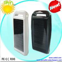 Lithium Polymer 1000mAh Portable Solar Charger Wiht CE, ROHS For Mobile Phone Manufactures