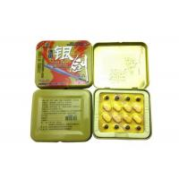 China German Silver Sword Natural Herbal Anti Erection Dysfunction Sex Enhancement Pills on sale