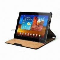 Tablet PC Case, Leather Cover, Made of High-quality PU and Microfiber, Easy to Carry Manufactures