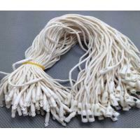 custom cheap white plastic seal String hang tag with bullet clasp manufacturer Manufactures