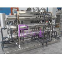 Stainless Steel Ro Membrane Water Treatment System , Water Purifier Machine Manufactures