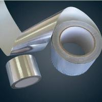 Weather Proof  Aluminum Foil Tape For  Wind - Pip Heat Preservation Of Fefrigerator Manufactures