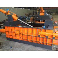 Color Customized Y81F -125 Scrap Baler Machine Electronic Control Power 22kw Manufactures