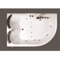 Aganist Wall Free Standing Jetted Soaking Tub , American Standard Whirlpool Tub Manufactures