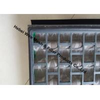 Quality SS Shale Shaker Screen Rubber Seal At Screen Panel Back Limit Fluids Bypass for sale