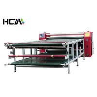 China Roller Sublimation Heat Transfer Machine For t Shirts Digital High Efficiency on sale