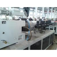 China Recycled WPC Profile Production Line For Pavilion on sale