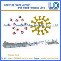China Chewing/jam center pet food processing machinery on sale